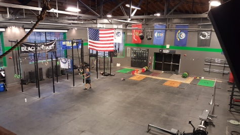 Brickwall Crossfit!!