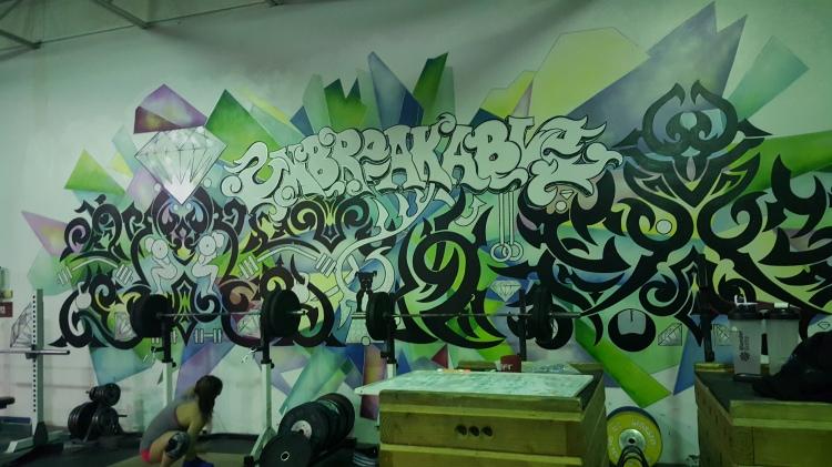 Sweet mural