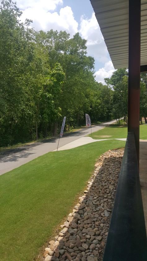 Swamp rabbit trail entrance