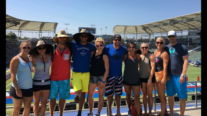 SuitcaseFriends!  The Crossfit Games & Cali Drop ins
